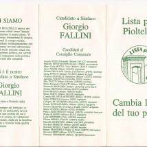 Programma della Lista 1993