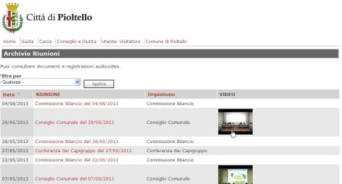 Clicca per accedere al Portale coi video e documenti