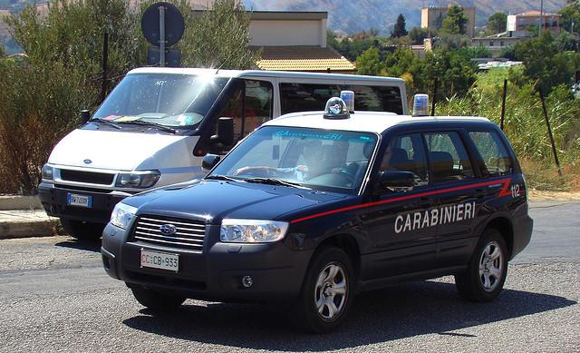 I nuovi mezzi dei Carabinieri (foto di repertorio)