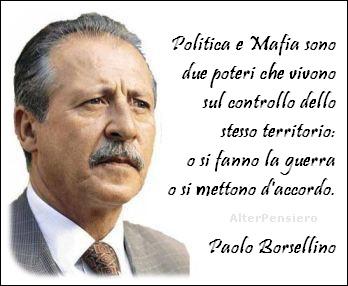 BorsellinoPolitica