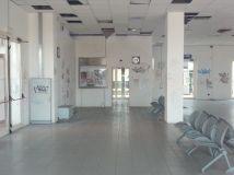 Sala d'attesa chiusa
