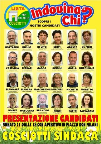 Presentazione Candidati Lista