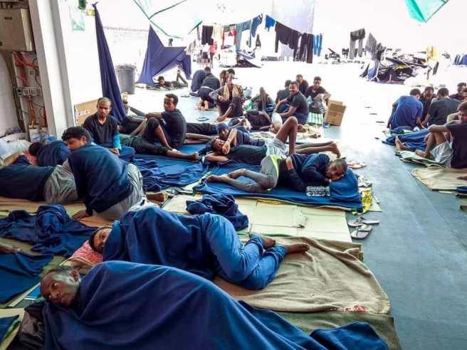 diciotti migranti foto riccardo magi fb-2